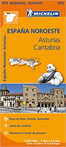 Espana noroeste : asturias, cantabria Régional Espagne: Amazon.es: Michelin: Libros en idiomas extranjeros