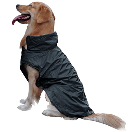 Koolee Pet Dog Jacket Waterproof Winter Coat (L)