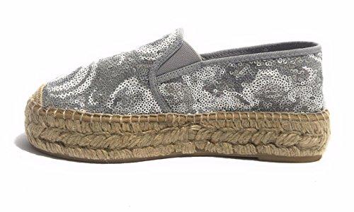 Chaussures Femme Kanna Espadrillas Nolle Plata Cord Espagnol Pl 3.5 Ds17ka14 (41 Eu)