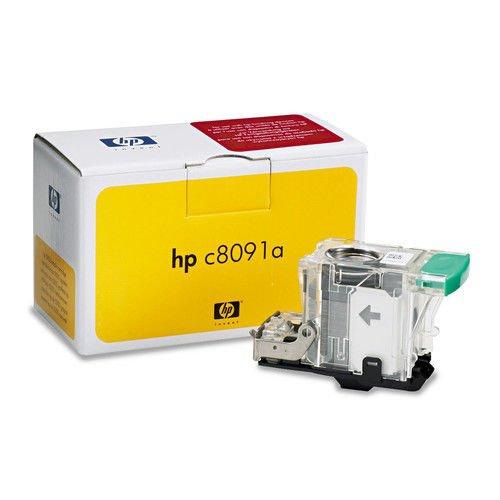 Hewlett-Packard C8091A Standard Staples For Hp Laserjet 9055/9065mfp, One Cartridge, 5,000 Staples/pack