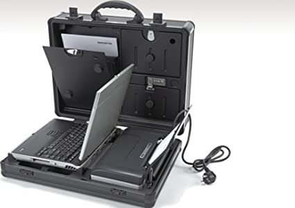 "Dicota Datadesk Compact - Maletín para ordenador portátil de hasta 15.4"" (impresora integrado)"