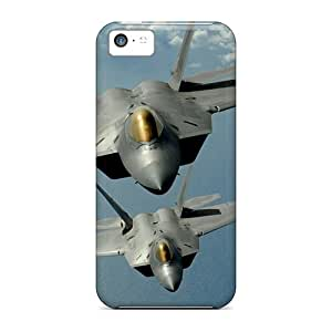 Tpu Case Cover Compatible For Iphone 5c/ Hot Case/ F 22 Raptor
