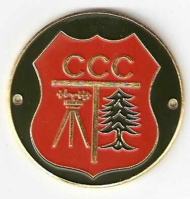 Civilian Conservation Corps  Ccc  Hiking Stick Medallion