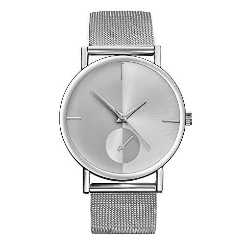 Ballad Women's Simple Watches Fashion Classic Colorblock Quartz Stainless Steel Wrist Watch