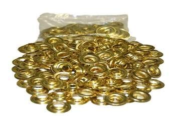 Grommet Brass and Washers #2-3/8'' 500 pairs