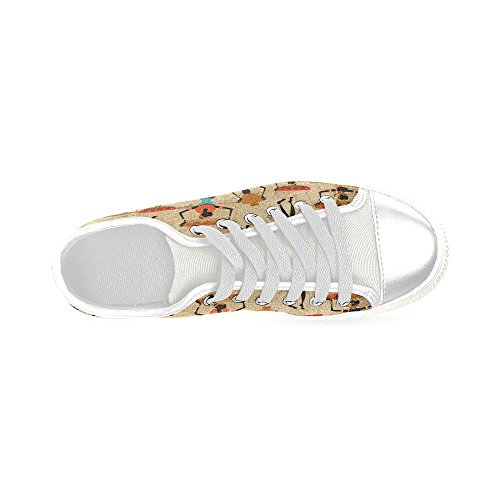 D-Story Custom African Woman Womens Classic Canvas Shoes Fashion Sneaker iR186qzXS