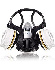 Dräger X-plore® 3300 Schilderset/Tuinbouwset halfgelaatsmasker met twee herbruikbare A2 P3 filters voor verfspuiten en werkzaamheden in de tuinbouw