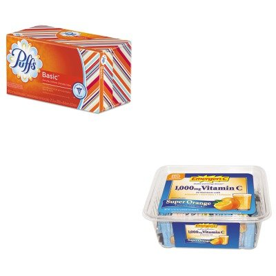 KITALA130279PAG87611CT - Value Kit - Procter Gamble Professional White Facial Tissue (PAG87611CT) and Emergen-C Immune Defense Drink Mix (ALA130279)