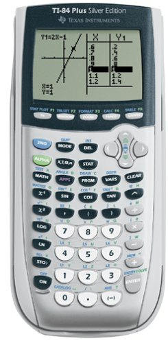 Texas Instruments TI-84 Plus Silver Edition Graphing Calculator, Silver (Graphing Calculators Ti)