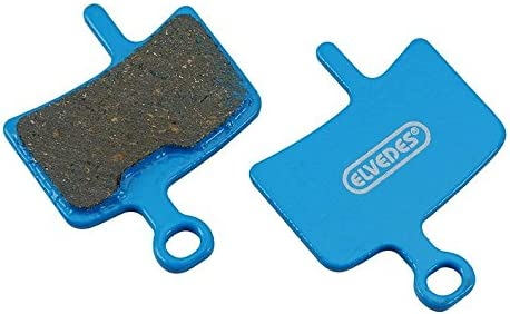 Elvedes Unisexs Disc Brake Pads Organic Per Pair Fits Diatech Anchor//Promax Dsk-910-Multicoloured Multicoloured