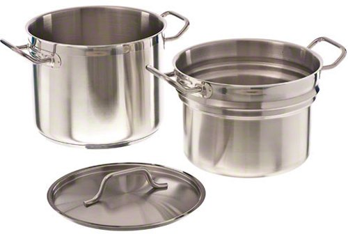 Update International (SDB-16) 16 Qt Induction Ready Stainless Steel Double Boiler w/Cover by Update International (Image #2)