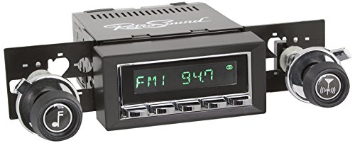 - RetroSound HC-216-37-73 Hermosa Direct-fit Radio for Classic Vehicles (Chrome Face & Buttons and Black Bezel)