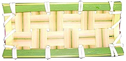 Soporte Rectangular 10x4,5cm pack 6 uds. B30 degustaciones de aperitivos en catering y