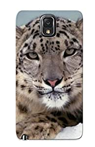 Graceyou EDS84QpnQF Case Cover Galaxy Note 3 Protective Case Snow Cheetah ( Best Gift For Friends)