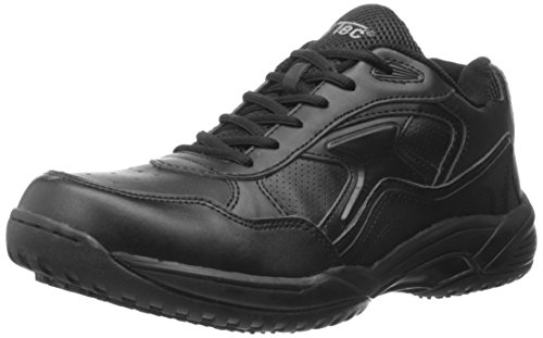 Slip Resistant Uniform - Adtec Men's Athletic Lace Up-M Uniform Shoes, Black, 10.5 M US