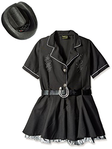 Underwraps Costumes Women's Sexy Cowgirl Costume - Rhinestone, Black, Small