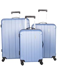 American Tourister Galiano 3-Piece Hard Side 4-Wheeled Expandable Luggage Set - Slate