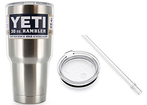 Yeti Tumbler With Straw Lid (2 Piece Lids) ,30 oz