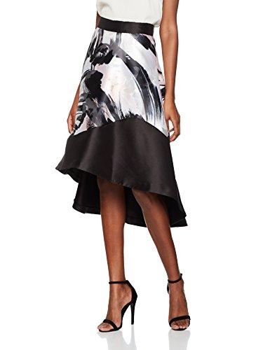 Coast Waldorf Abstract, Falda para Mujer Multicolor