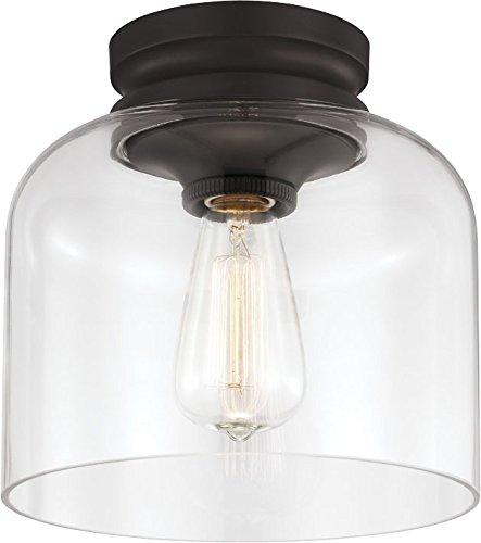 Feiss FM404ORB 1-Light Hounslow Flushmount, Oil Rubbed Bronz