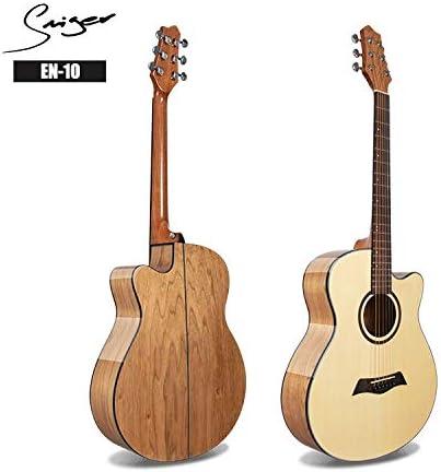 SUNXK 40 Pulgadas de Gama Media de Guitarra luz Abeto Guitarra ...