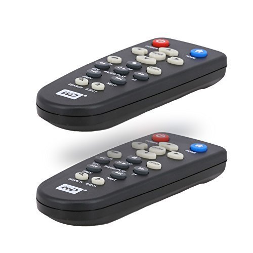A.Shine New OEM WD Remote Control For All Versions Western Digital TV HD WDTV Media Player-2 Pack