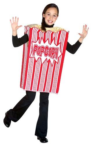 Baby Popcorn Costumes (Rasta Imposta Movie Night Popcorn Children's Costume, 7-10, Red)