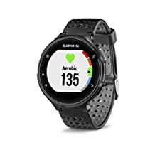 Garmin Forerunner 235 GPS Watch with Heart Rate Monitor, Black/Gray (Certified Refurbished)