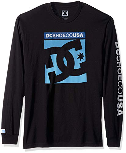 DC Apparel Men's Ken Block Founders Series Long Sleeve T-Shirt, Black KB LS, ()