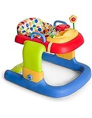 Hauck Walker Pooh Ready to Play - Andador para bebes 2 en 1, a partir de 6 meses, juego de mesas con ruedas, altura ajustable
