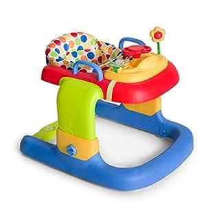 Hauck 2in1 Walker - Tacatá y andador apto para 6 meses hasta 12 kg, juego de mesa multifuncional con ruedas, juegos y asiento desmontables, con luces, ...
