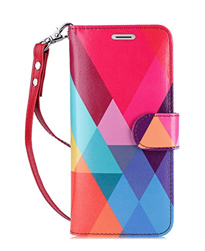 FYY Luxury PU Leather Wallet Case for Samsung Galaxy S8 Plus, [Kickstand Feature] Flip Folio Case Cover with [Card Slots] and [Note Pockets] for Samsung Galaxy S8 Plus Colorful