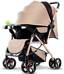 Baby Strollers Beige Unisex