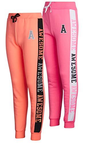 Real Love Girls Fleece Active Jogger Pants (2 Pack)