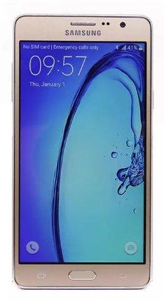 """Samsung Galaxy On7 SM-G6000 8GB Gold, Dual Sim, 5.5"""", GSM Fa"""