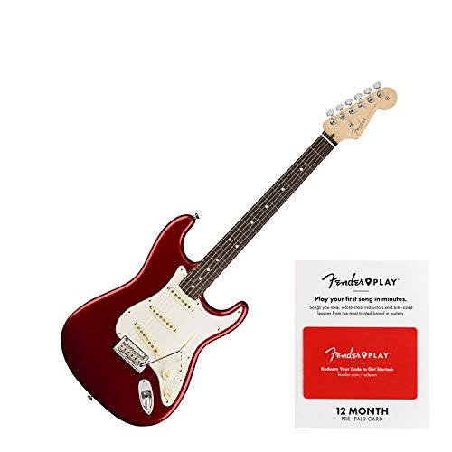 Fender American Professional Stratocaster - Candy Apple Red w/Rosewood Fingerboard