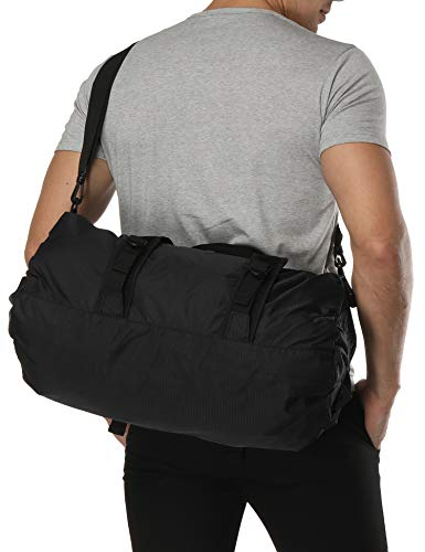 (MIER Foldable Small Duffel Bag Lightweight for Sports, Gyms, Yoga, Travel, Overnight, Weekender,)