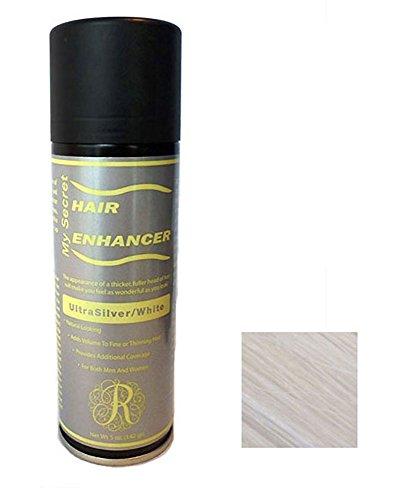 Dr. Leonard's Hair Enhancer, Color Ultra Silver/White by My Secret Hair Enhancer