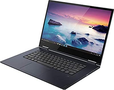 "Lenovo - Yoga 730 2-in-1 15.6"" Touch-Screen Laptop - Intel Core i5 - 12GB Memory - 256GB Solid State Drive - Abyss Blue"