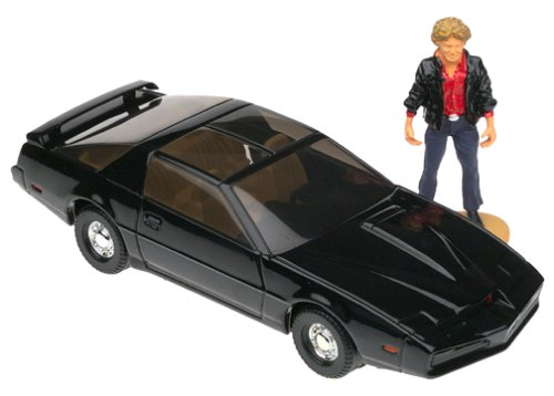 (KNIGHT RIDER PONTIAC TRANSAM 'KITT' 1:36 Scale Diecast Corgi Vehicle with White Metal MICHAEL KNIGHT Figure from the Classic Television)
