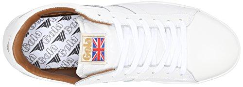 Gola Mens Equipe Mono Mode Sneaker Vit