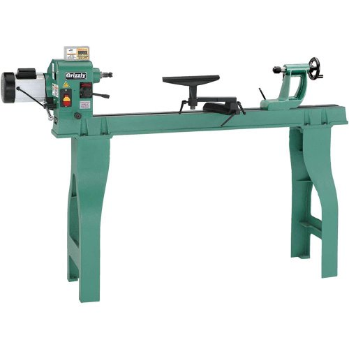 Grizzly G0462 Wood Lathe with Digital Readout by Grizzly