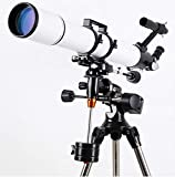 CTO Astronomicaltelescope, Hd Outdoor Landscape Lens Monocular with Tripod 102X600Mm Degrees for Beginners,A,Telescope