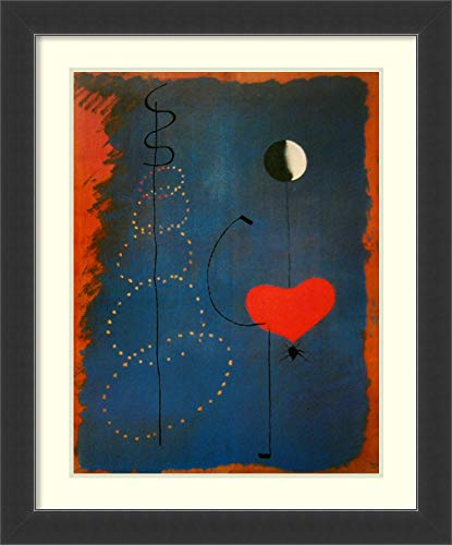 (Framed Wall Art Print | Home Wall Decor Art Prints | Ballerina II by Joan Miro | Modern Contemporary Decor)