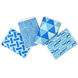 [New] Ice Pack for Lunch Boxes, Injuries, and Breast Milk - Cool Print Bag Designs | Long Lasting Reusable Ice Packs for Your Food and Cooler Bag (4 Pack)