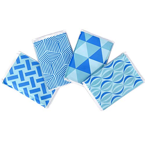 - [New] Ice Pack for Lunch Boxes, Injuries, and Breast Milk - Cool Print Bag Designs | Long Lasting Reusable Ice Packs for Your Food and Cooler Bag (4 Pack)