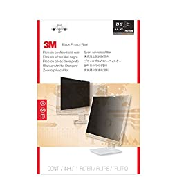 3M Privacy Filter for Widescreen Desktop LCD Monitor 21.5\
