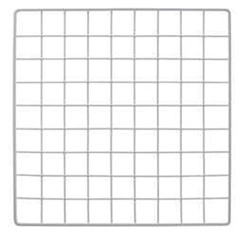 (Mini White Grid Panel 14