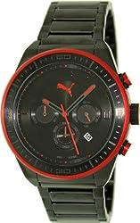 Puma Edge - L Black Men's watch #PU102911002