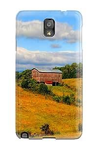 [odGlEkn9823qZlqF]premium Phone Case For Galaxy Note 3/ Barn Tpu Case Cover